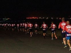 Hundreds run into the night for final Crimestoppers run
