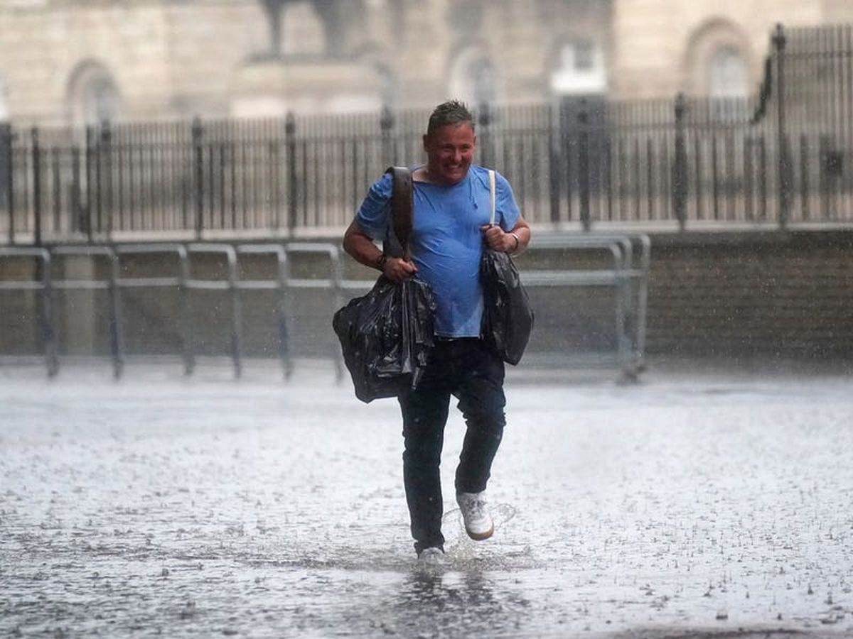 Thunderstorms to batter UK over next four days