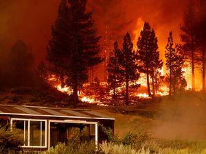 California wildfires cross into Nevada, prompting evacuations