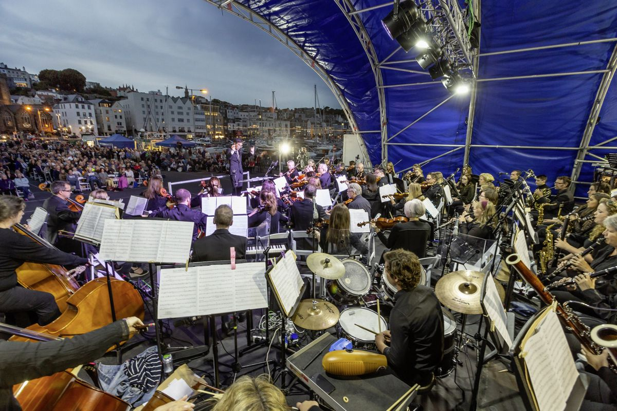 Proms on the Pier in 2018. This year's event, Proms on the Wicket, takes place at the KGV playing fields on Saturday 12 September.  (Picture by Chris George Photography)