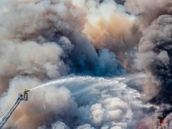 Fire picture 'will be hard to beat' says photographer