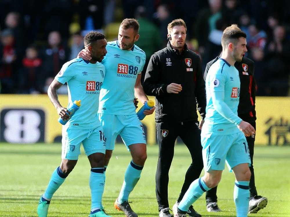 Bournemouth Boss Eddie Howe Delighted By Jermain Defoe S