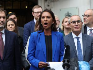 Presumably appellant-in-chief Gina Miller will be suitably rewarded in due course by the establishment for her work. (Jonathan Brady/PA Wire)