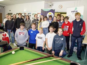 New Youth Forum members at Les Ozouets Campus.       (Picture by Sophie Rabey, 28961726)