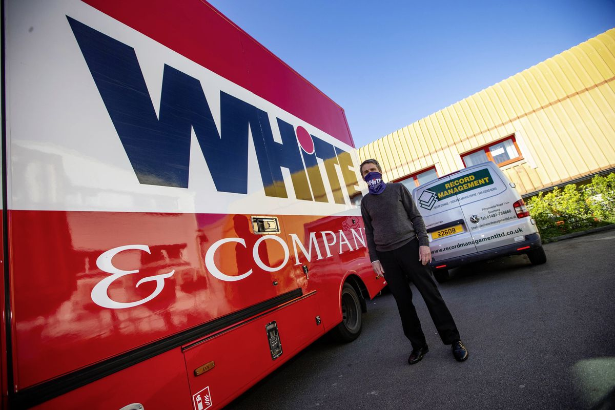 Steve Hammer, the manager at White and Company in Guernsey, said it was prepared to overcome the challenges of the rules set by the States to start work again as the island eases out of lockdown. (Picture by Peter Frankland, 29267150)