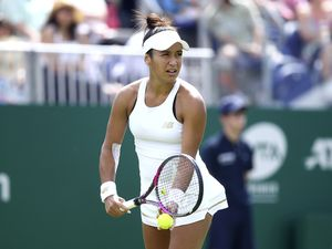 Miss Dependable: Heather Watson has now been involved in the Fed Cup for 10 years.(Picture by Charlie Crowhurst/Getty Images for LTA, 26999207)