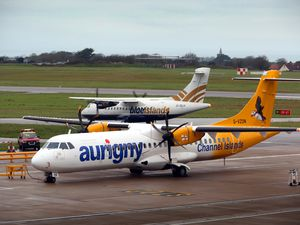 Rivals, then codeshare partners and, from May, Aurigny and Blue Islands will be rivals on the Jersey route again – and on Southampton – after the States-owned airline announced new services. (Picture by Peter Frankland, 23981722)