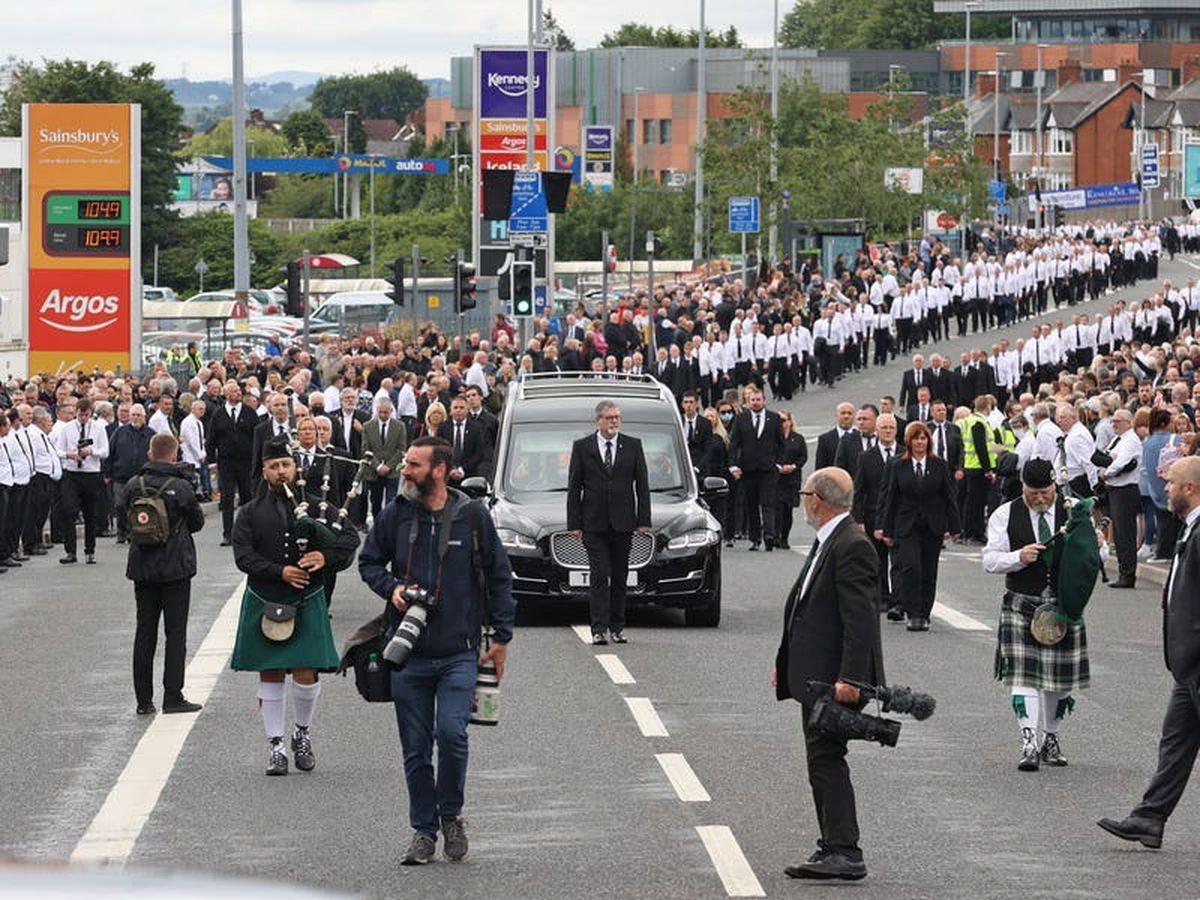 PPS upholds decision not to prosecute SF politicians over Bobby Storey funeral