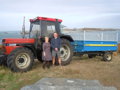 Lihou Island has new tractor and trailer