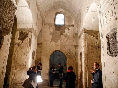 Rome unveils ancient underground basilica after facelift