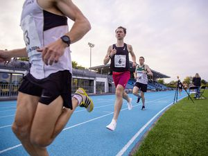 Picture By Sophie Rabey.  18-06-21.  Guernsey Athletics Action at Footes Lane - 5000m. (29674560)