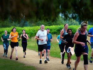 Joggers and walkers enjoy first Parkruns in England since lockdown ended