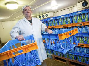 They cost £13 each, but Guernsey Dairy has lost 1,500 of the 2,000 milk crates it bought in July, with production manager Dave Domaille saying many go missing from outside shops. (Picture by Peter Frankland, 23095721)