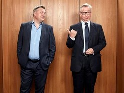 Michael Gove and Ed Balls filmed dancing Gangnam Style at Christmas party