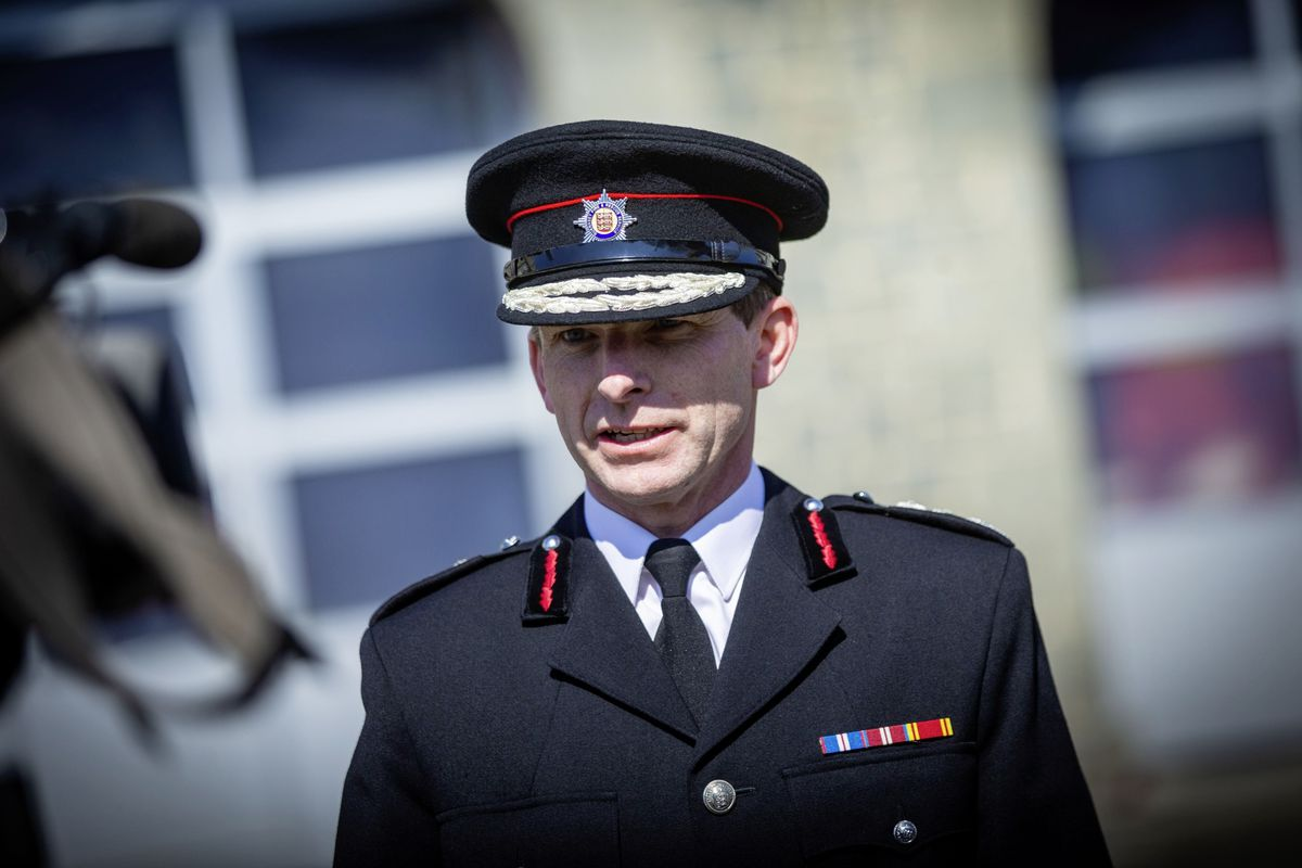 The Chief Fire Officer Jonathan Le Page. (29451068)