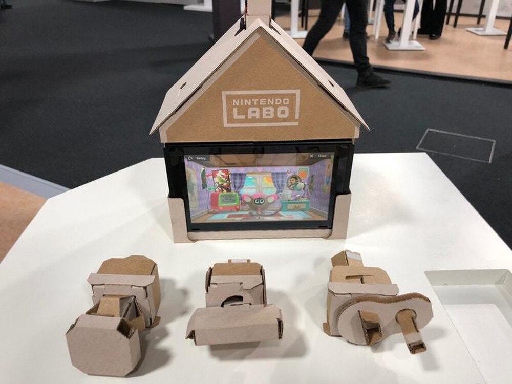 Nintendo Labo: How does a gaming device made out of