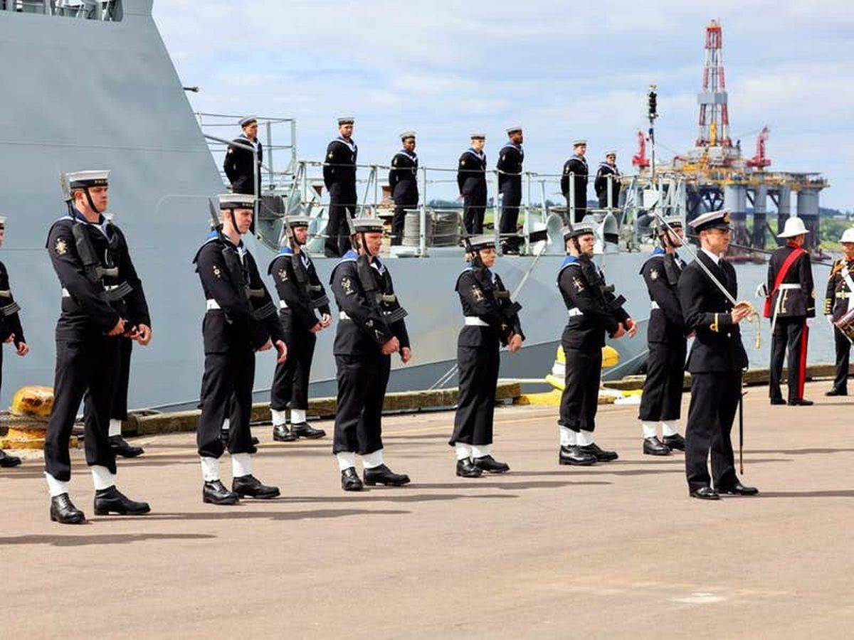 Royal Navy's newest ship joins the fleet