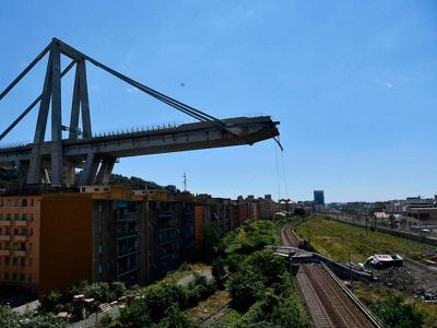 Genoa bridge collapse survivors recall terror