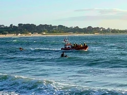 Surf school boss rescues young swimmer at Vazon