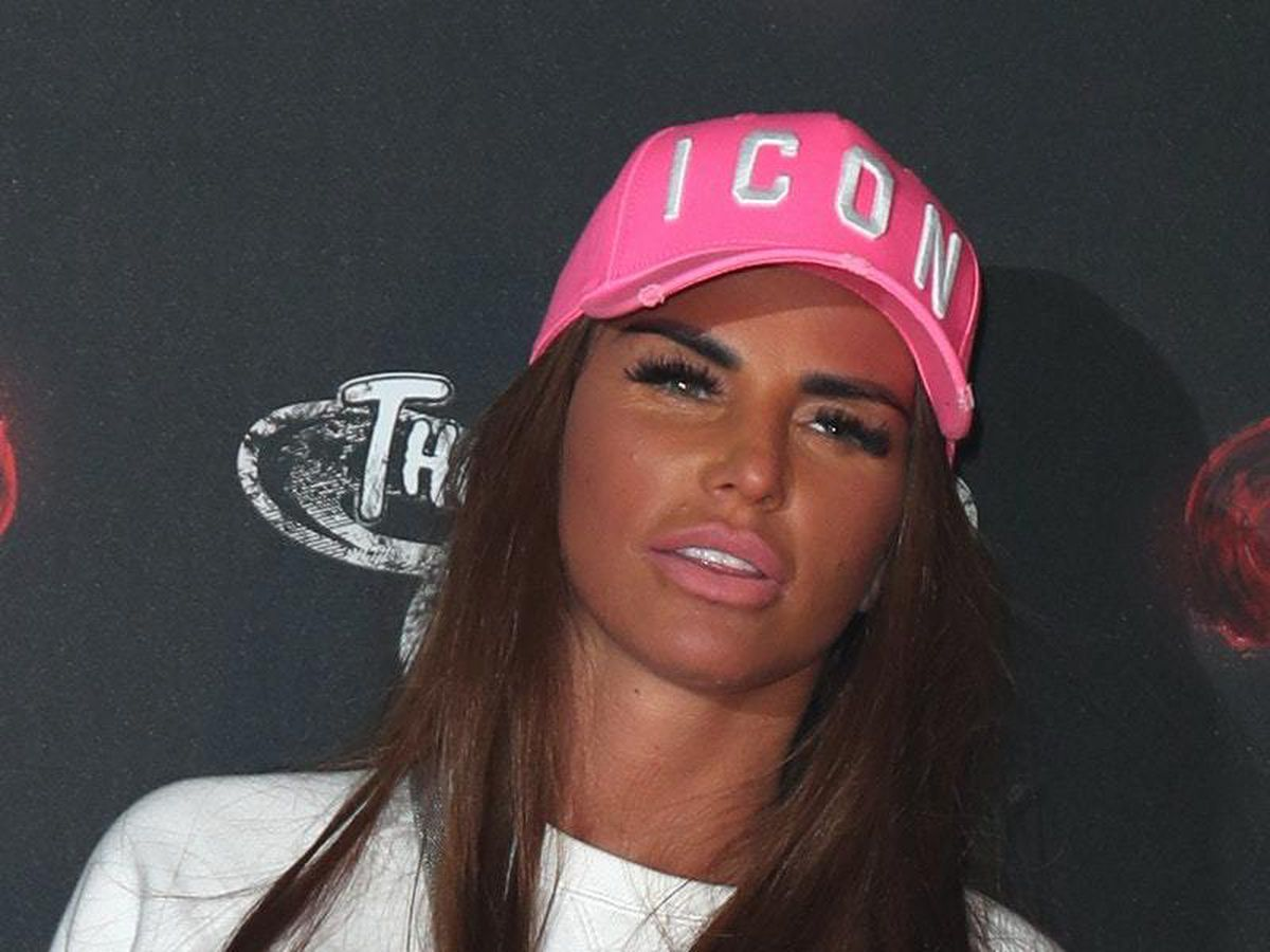 Katie Price apologises at bankruptcy hearing but says she is making 'progress'