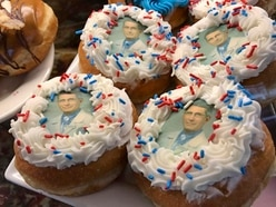 Shop sells doughnuts featuring face of doctor leading US coronavirus fight