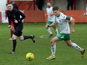Free to roam: Liam Mahon is one Guernsey FC regular who has been quick to step back into domestic action while suspended at Isthmian level.(28537081)