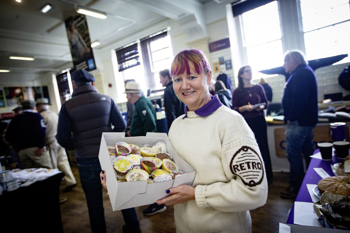 Suzy Rose was selling cakes. (Picture by Peter Frankland, 28930478)