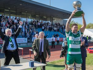 Guernsey Raiders lifted the Siam Cup last time it was played at Footes Lane in 2018. (Picture by Martin Gray, 27649807)