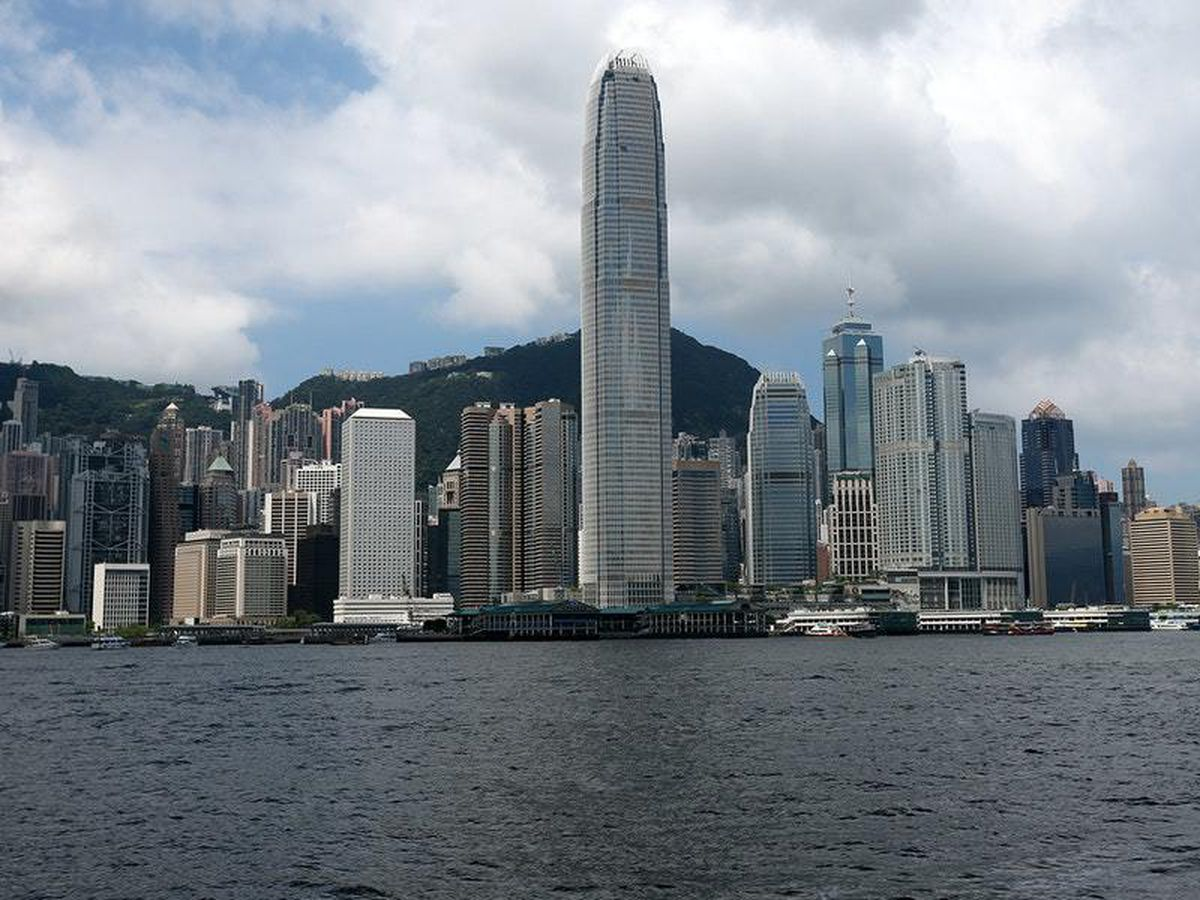 The harbour in Hong Kong (28520764)