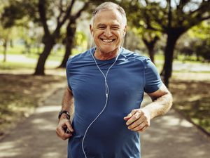 Generic stock photo of a man running for good health. See PA Feature HEALTH Decade. Picture credit should read: iStock/PA. WARNING: This picture must only be used to accompany PA Feature HEALTH Decade (29269110)