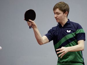 Table Tennis Channel Island championships..Josh Stacey GSY....Picture: DAVID FERGUSON. (26995722)