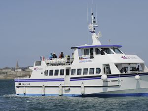 Corsaire des Iles II, the boat that Isle of Sark Shipping intends to buy to replaced the Bon Marin de Serk and the Sark Belle.