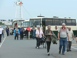Increase in cruise passengers coming ashore this season