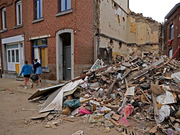 New floods hit Belgium amid thunderstorms and heavy rain