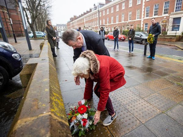 Wreath laid as victims pay tribute to murdered lawyer Edgar Graham