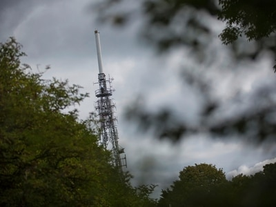 TV tower work to free up the airwaves for 5G