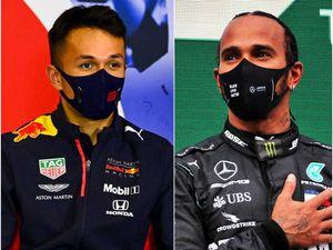 Lewis Hamilton leads but Alexander Albon crashes as drama dogs Bahrain practice