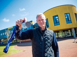 Inspiration for pupils from former top British swimmer