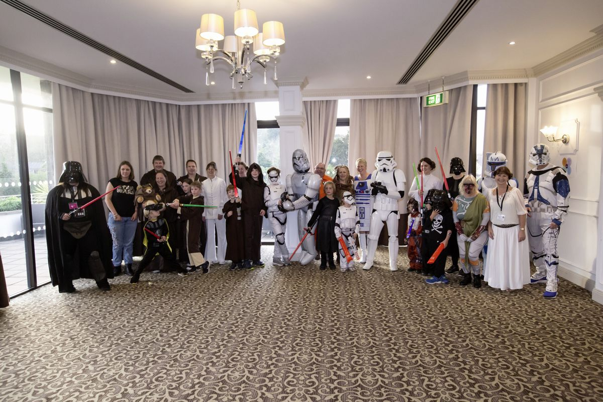 Pic by Adrian Miller 07-11-20 St Pierre Park Hotel Star Wars tea party for Autism Guernsey. (28887207)