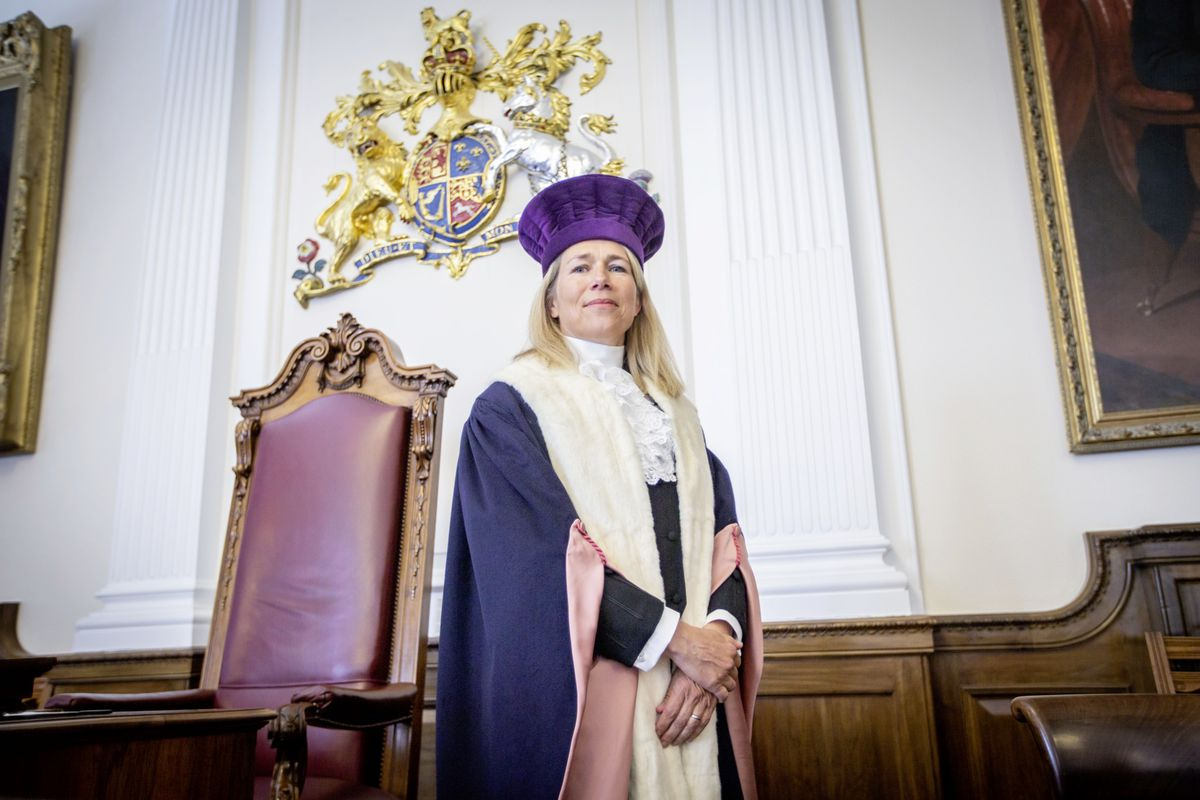 The installation of Jessica Roland as Deputy Bailiff of Guernsey was held yesterday at the Royal Court. (Picture by Sophie Rabey, 28257793)