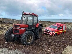 Fire & Rescue 4x4 meets its match in seaweed