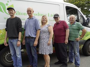 Left to right: Mark Clemens, Nigel Stewart, Adele Morrow, Eric Bishop and Manuel Da Camara. Staff unavailable for the photo: Lee Gallienne, Lee Eggiman, Peter Innis, Dominic Green.