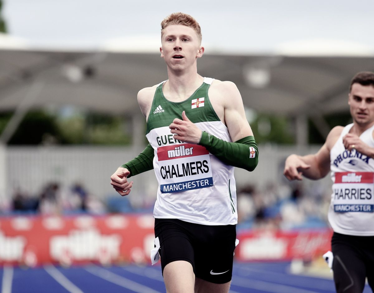 Cam Chalmers has been named in the Great Britain men's 4x400m relay squad for the Tokyo Olympics. (Picture by Mark Shearman, 29699870)
