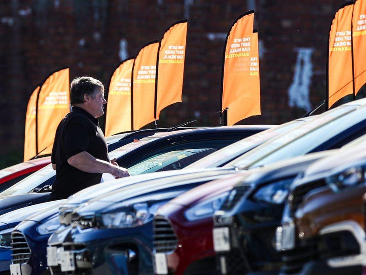 New car sales down 13% on pre-crisis April average