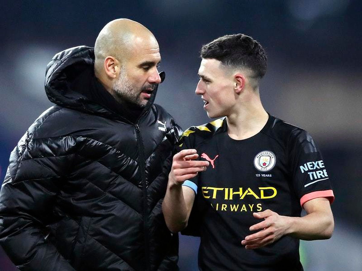 Pep Guardiola backs Phil Foden to achieve 'whatever he ...