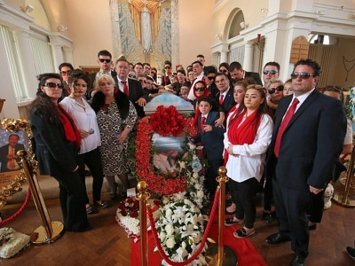 Travellers come together to mourn mother of Paddy Doherty