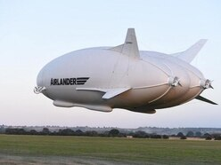 Woman taken to hospital after world's largest aircraft comes loose from moorings