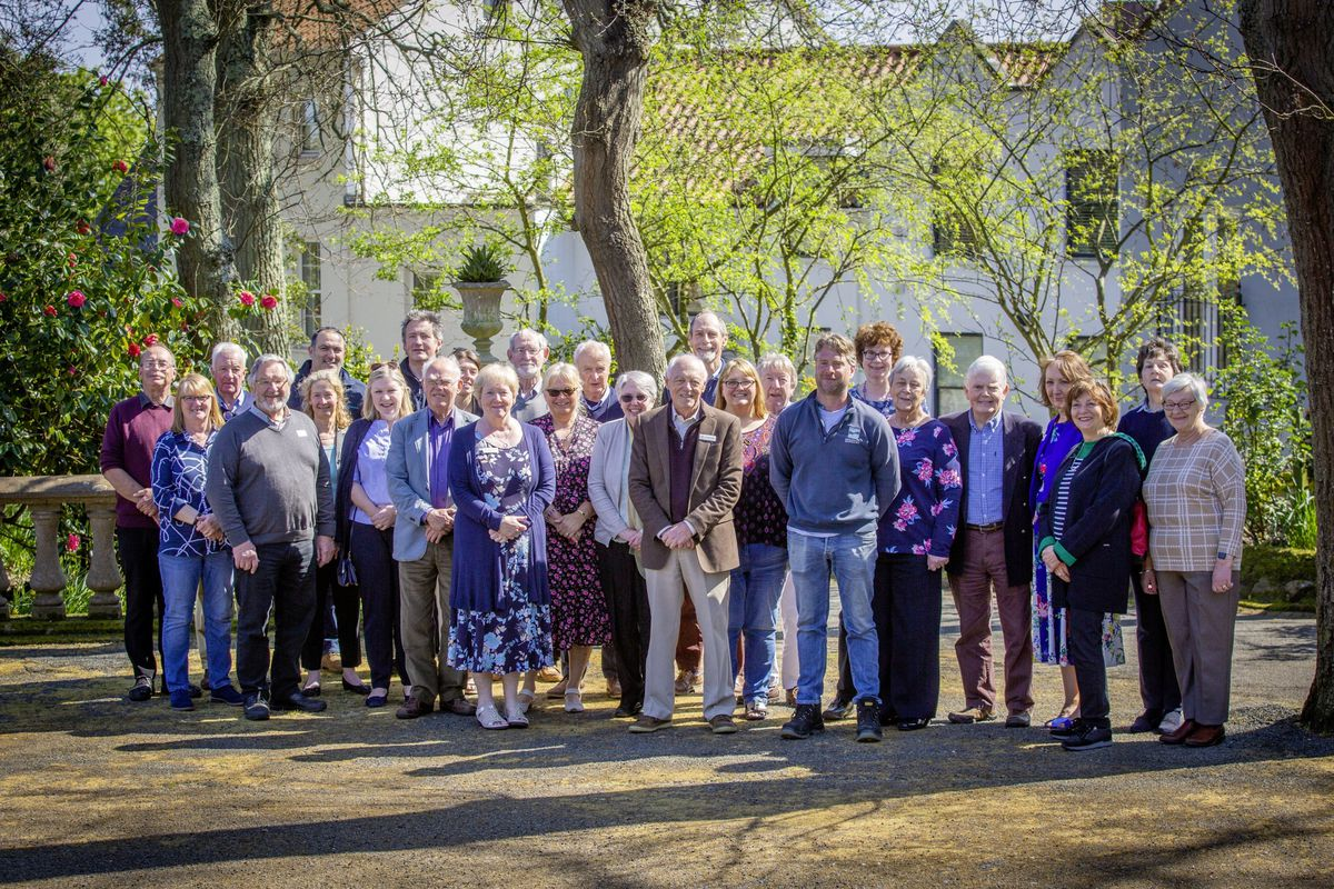 The launch of the Floral Guernsey Silver Anniversary Garden at Candie Museum. The actual anniversary was in 2017 but the celebratory afternoon tea party was held yesterday following the completion of one of Floral Guernsey's biggest projects. (Picture by Sophie Rabey, 29439447)