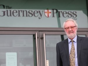 Guernsey Press chairman and publisher Terry Holder is retiring. (28844536)