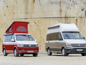Based on the large Crafter van, the Grand California continues Volkswagen's iconic camper legacy since the original Type 2 of the 1950s
